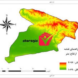 دانلود نقشه ارتفاع استان البرز