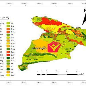 دانلود نقشه زمین شناسی استان البرز