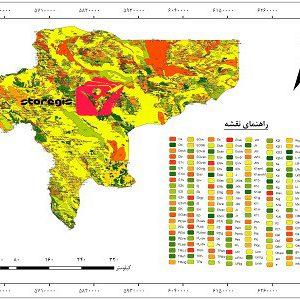 دانلود نقشه زمین شناسی استان اصفهان