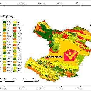 دانلود نقشه زمین شناسی استان قزوین