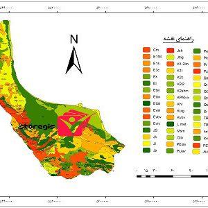 دانلود نقشه زمین شناسی استان گیلان