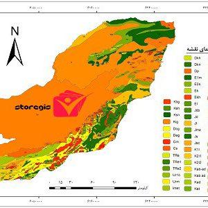 دانلود نقشه زمین شناسی استان گلستان