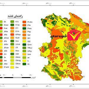 دانلود نقشه زمین شناسی استان همدان