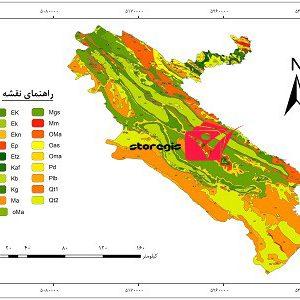 دانلود نقشه زمین شناسی استان ایلام