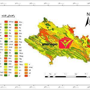 دانلود نقشه زمین شناسی استان لرستان