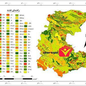 دانلود نقشه زمین شناسی استان مرکزی