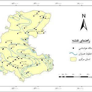دانلود نقشه همباران استان مرکزی