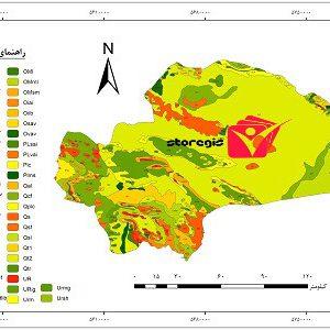 دانلود نقشه زمین شناسی استان قم