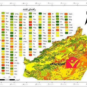 دانلود نقشه زمین شناسی استان سمنان