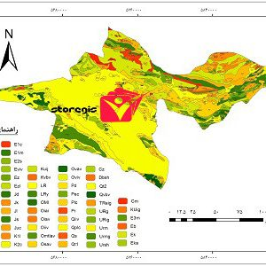 دانلود نقشه زمین شناسی استان تهران