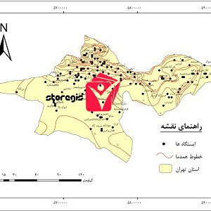 دانلود نقشه همدما استان تهران