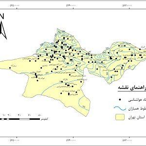 دانلود نقشه همباران استان تهران