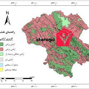 دانلود نقشه کاربری اراضی استان زنجان