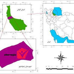 دانلود نقشه موقعیت شهرستان رضوانشهر