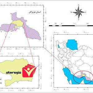 دانلود نقشه موقعیت شهرستان بندرعباس