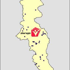 دانلود شیپ فایل معادن استان اردبیل