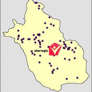 دانلود شیپ فایل معادن استان فارس