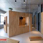 طراحی دکوراسیون خانهای ۶۸ مترمربعی به سبک صنعتی | ویتنام