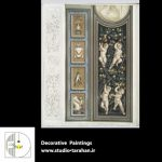 دانلود موتیف های سبک کلاسیک – نقاشی دیواری و سقفی