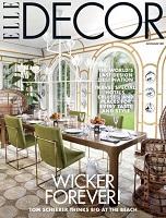 دانلود مجله Elle Decor USA چاپ July August 2019