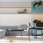 ترکیب مناسب رنگ در آپارتمان + تصاویر