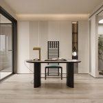 ترکیب رنگهای خاکی در طراحی آپارتمانهای مدرن + تصاویر