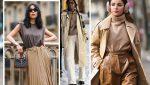 دانلود پالت رنگ قهوه ای در طراحی لباس