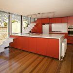 چگونه از رنگ قرمز در دکور آشپزخانهها استفاده کنیم؟ + تصاویر