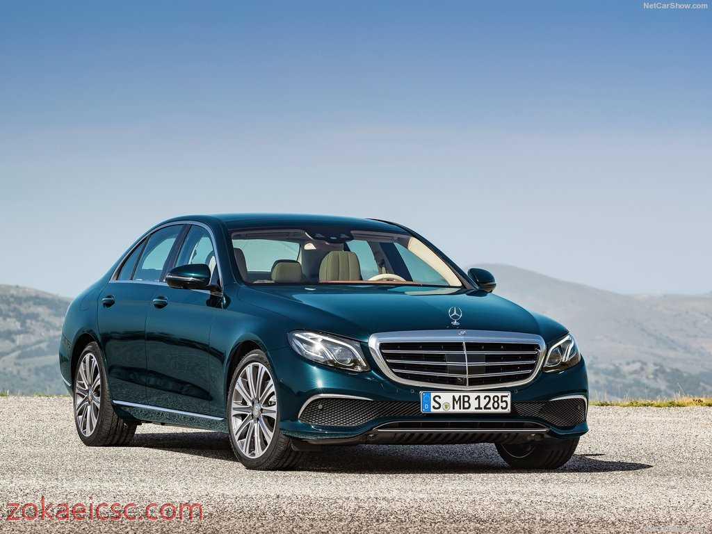 تعمیر ماشین بنز مدل Mercedes Benz E-Class 2017