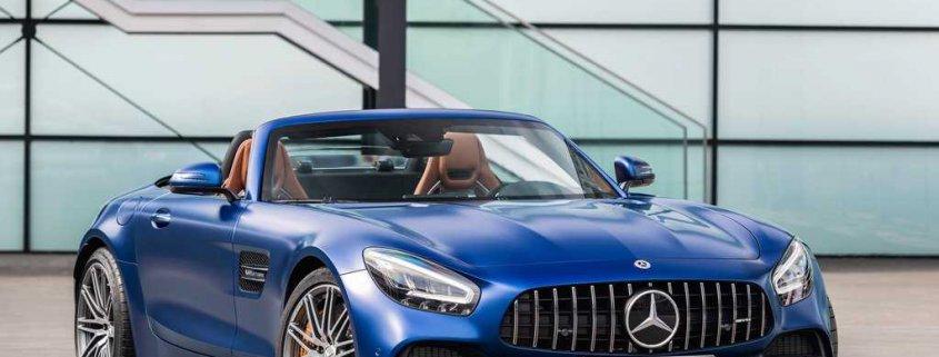 ماشین بنز مدل AMG GT C Roadster 2020
