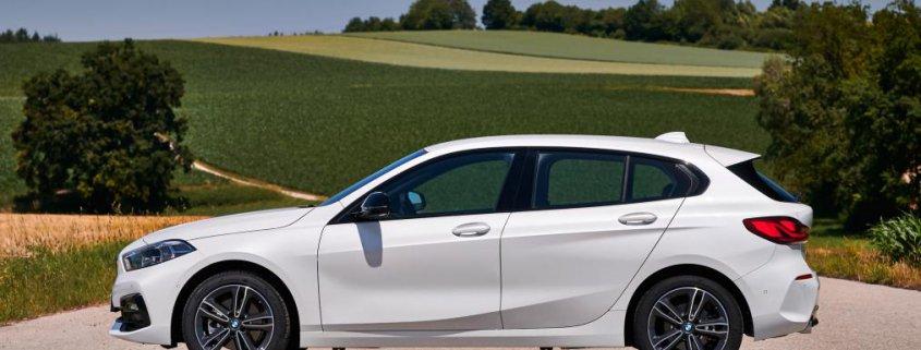 همه چیز از ماشین BMW سری 1