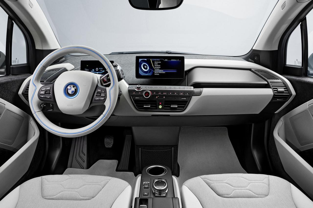 طراحی ظاهری خودرو BMW i3 2014