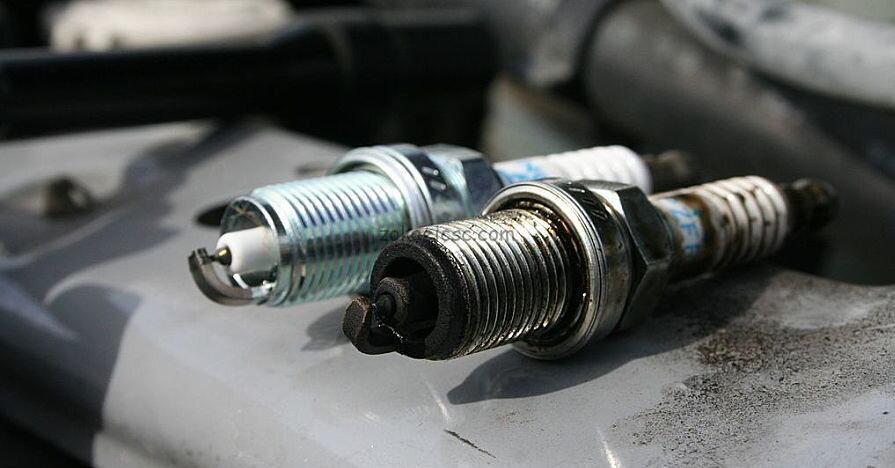 تعویض شمع موتور مرسدس بنز