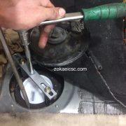 تعویض پمپ بنزین مرسدس ینز